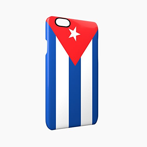 Flag of Cuba Glossy Hard Snap-On Protective iPhone 6 / 6S Case Cover