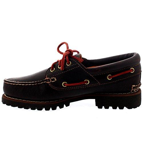 3 Leather Eye Hazel Mens Shoes Trad Hazel Timberland Handsewn Lace up Lug Boat UqYpYwtInx