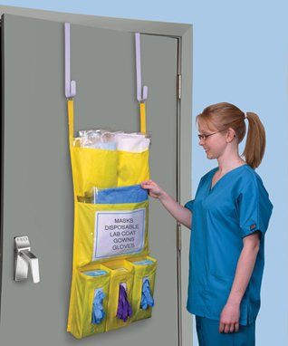Health Care Logistics Personal Protection Door Caddy