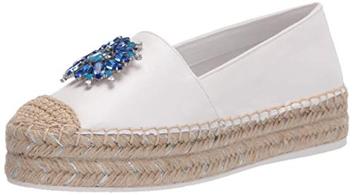 Karl Lagerfeld Paris Women's Slip on Espadrille Platform