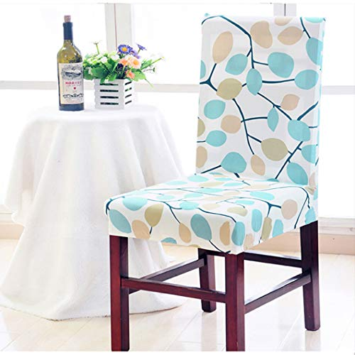 ROGEWIN Chair Cover Spandex Stretch Wedding Banquet Restaurant Hotel Dining Home Decoration Dustproof Wrap Angle Seat ()