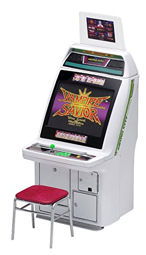 - Wave GM025 Memorial Game Collection Astro City Cabinet Arcade Machine Capcom Titles 1/12 Scale Kit