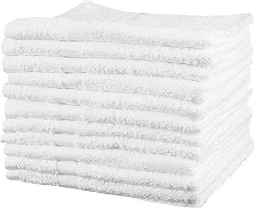 EOM Cotton-Salon-Towels Gym-Towel Hand-Towel - (24-Pack) - 16 inches x 27 inches - 100% Ringspun-Cotton, Maximum Softness and Absorbency