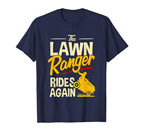 The Lawn Ranger Rides Again - Lawn Tractor Mowing ()
