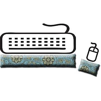 Amazon.com: Juego de almohadillas ergonómicas para teclado y ...
