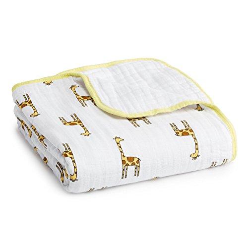 aden + anais dream blanket, jungle jam - giraffe