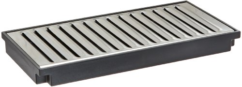 """Wilbur Curtis  Plastic Drip Tray, 8"""" - Easy-to-Clean Food Service and Restaurant Drip Tray - DTP-08 ()"""