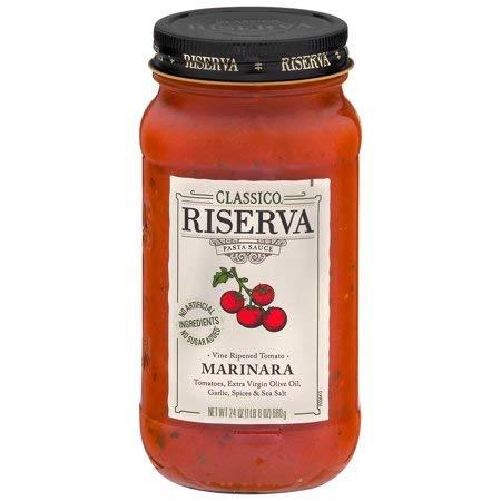 Riserva Marinara Pasta Sauce 24 oz. Jar,