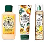Bath and Body Works Clementine & Mint Leaves Gift