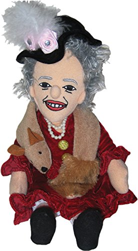 The Unemployed Philosophers Guild Eleanor Roosevelt - Little Thinker - Plush Doll - Eisenhower Mother Of Pearl