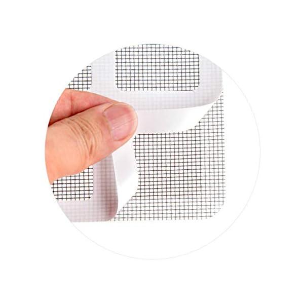 Longspeed Patch Anti-zanzariera in Fili appiccicosi Patch Finestra Estiva Rete Anti-zanzare Patch Riparazione dei Fori… 2 spesavip