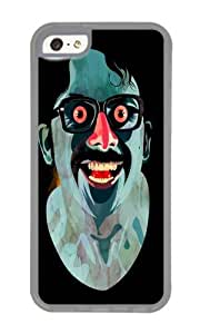 Apple Iphone 5C Case,WENJORS Cute Portrait of Alonso Quijada Soft Case Protective Shell Cell Phone Cover For Apple Iphone 5C - TPU Transparent