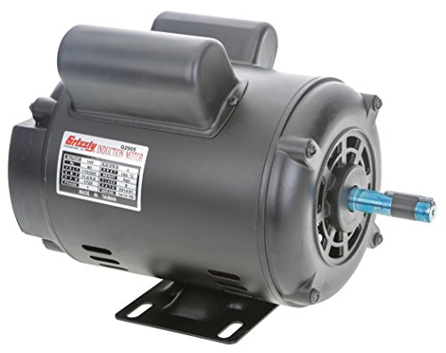 Grizzly G2905 Single Phase Motor HP product image