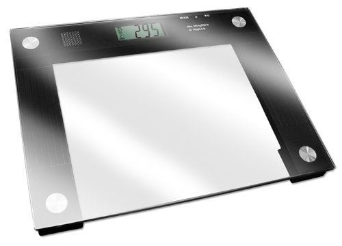 Talking X-Wide Glass Scale 550# Wt. Cap. by Medical Supply Team