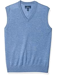 Men's Italian Merino Wool Lightweight Cashwool Sweater Vest