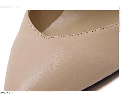 Mode hochhackige schuhe schuhe schuhe mit hohen absätzen lederschuhe stahl - stiefel e67355