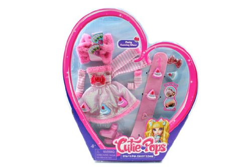 Cutie Pops Dolls Fashion Accessory Pack – Party Evening Wear, Baby & Kids Zone