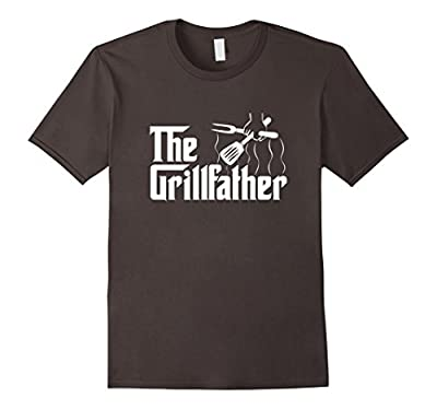 The Grillfather BBQ Grill & Smoker | Barbecue Chef T-Shirt by BBQ Grill Smoker & Cook Tees for real Chefs