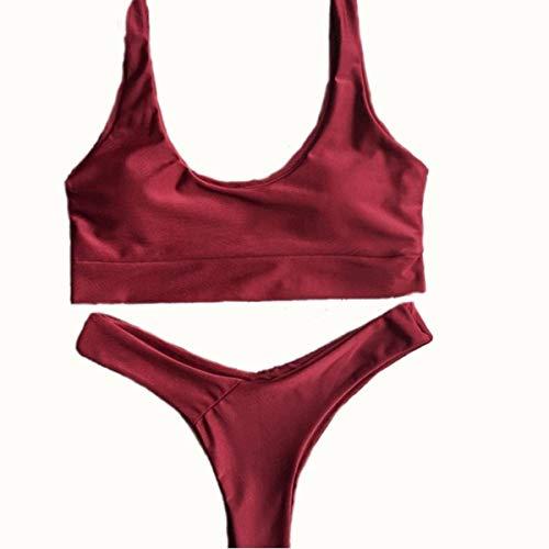 casual M Fashion Bikini Oudan Swimsuit Bikini Estate colore donna Dimensione OSx0g