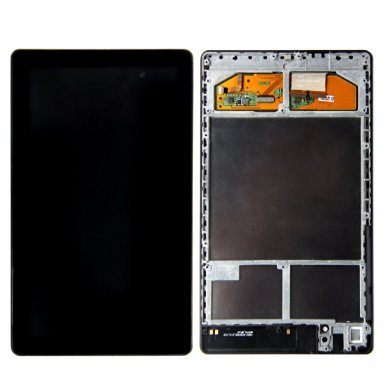 LCD Touch Screen Digitizer Assembly For Google NEXUS 7 2013 Asus ME571K Gen 2nd Frame WIFI version (Nexus 7 Replacement Screen)