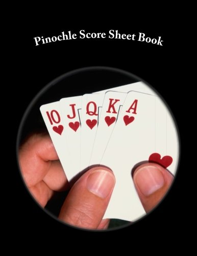(Pinochle Score Sheet Book: 100 Pages (50 sheets))