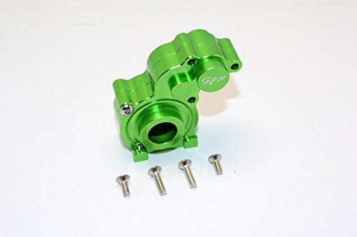 - Axial SMT10 Grave Digger (AX90055) Upgrade Parts Aluminum Center Transmission Case - 1 Set Green