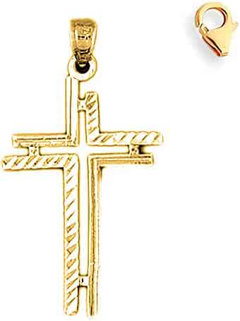 35777333e2d1e Shopping Yellow Gold - JewelsObsession - Religious - Jewelry - Men ...