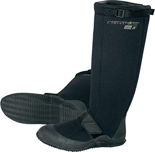NeoSport Wetsuits Explorer 5mm Explorer Boot, Black, 9 - Water Shoes, Surfing & Diving ()