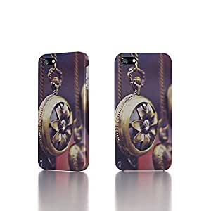Apple iPhone 4 / 4S Case - The Best 3D Full Wrap iPhone Case - Pocket Watches