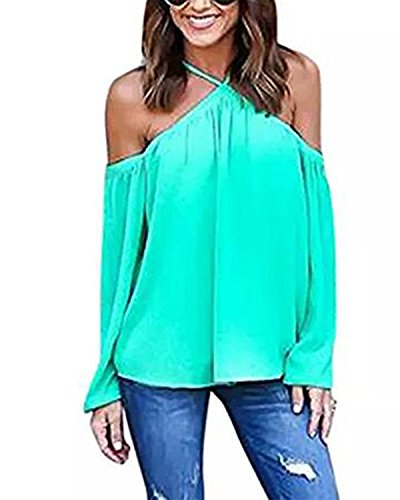 Tempt Chiffon Shoulder Sleeve T Shirt