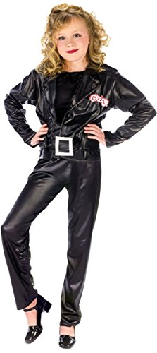 [Morris Costumes GREASE COOL SANDY CHILD LARGE] (Sandys Cool Grease Costumes Wig)