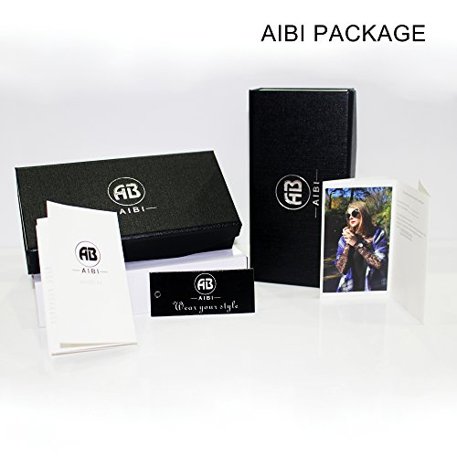 AIBI Stainless Steel Man's 'Watch 3ATM Waterproof 40mm Case With Date Watches for Business Men by AIBI (Image #7)