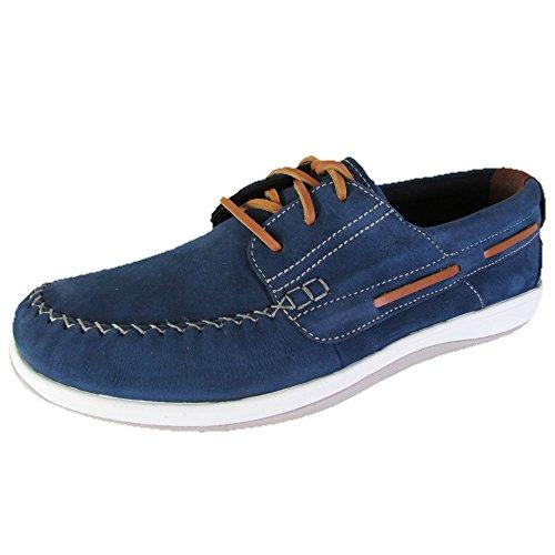 (Cole Haan Men's Boothbay Boat Shoe Marine Blue Nubuck 11.5 D US D (M))