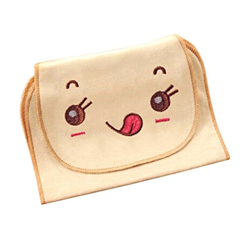 Cotton Towels Baby Sweat Absorbent Towel (Naughty Face Style, 32x24 cm)