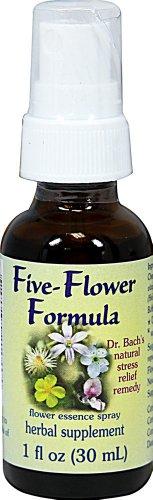 Flower Essence Services - Five-Flower Formula Spray 1 oz - Five Flower Formula Spray