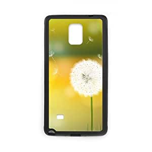 Custom Phone Case with Dandelion Image On The Back Fit To Samsung Galaxy Note 4