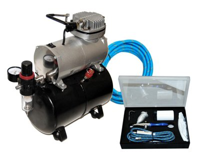 Master Airbrush Model G78 Etching Airbrush System with AirBrush-Depot TC-20T ...