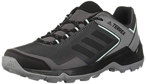 adidas outdoor Women's Terrex EASTRAIL Hiking Boot Grey Four/Black/Clear Mint 9 M US (Best Waterproof Walking Shoes Womens)