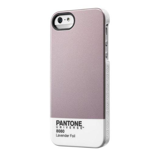 (Trendy Pantone Universe Clip on Case for iPhone 5/5S by Case Scenario - Lavender Foil)