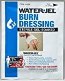 "First Aid Only 300-0206-01 Water Jel Burn Dressing, 2""x 6'', 15 Dressings Total"