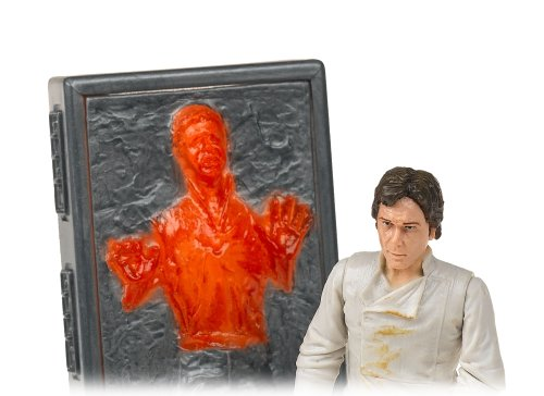 Vintage star wars han solo carbonite