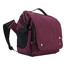 Case Logic FLXM-101 Reflexion DSLR with iPad Small Cross Body Bag (Pomegranate)