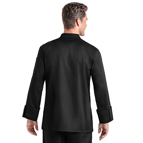 On The Line Men's Long Sleeve Chef Coat (S-2X, 2 Colors) by On The Line (Image #8)
