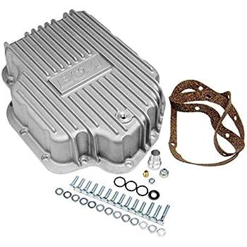 B/&M Ford C6 Deep Finned Aluminum Transmission Pan 2 Qts Extra Capacity 40281