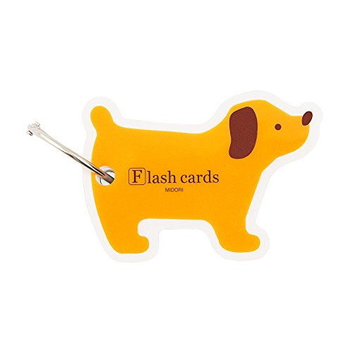 Flash Cards: blank, dog shaped pack on carry (Shaped Blank)