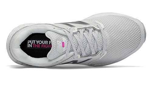 5 Shoe Balance Foam 1165 Walking Fresh 7 Glo Pink New Komen Women's White 4zq6ww