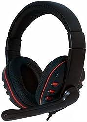 booEy GH15R Gaming Kopfhörer Headset für PS4/PS3/Xbox360 PC/Mac Playstation 4