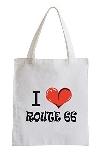 Route 66 Jutebeutel I love Fun 5q0nBA