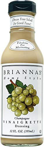 - Brianna's Vinaigrette Dressing - Champagne Vinaigrette - 12 Ounces