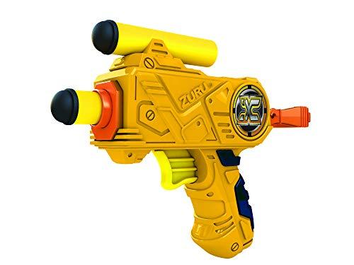 X Shot Lança Dardos Micro Candide Amarelo